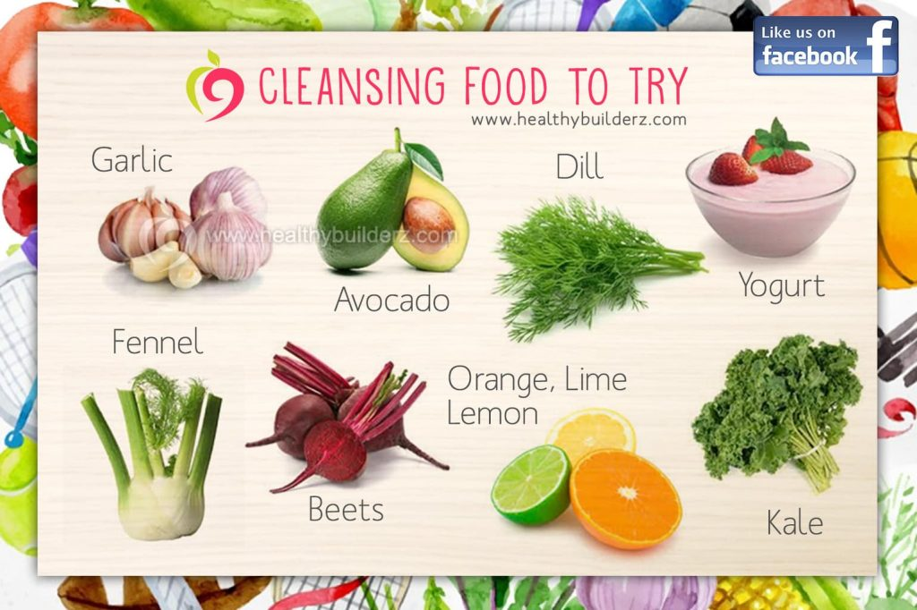 cleansing food chart